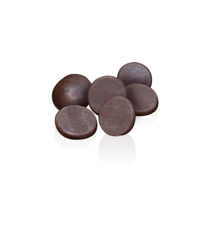 70% Ecuador Dark Chocolate Buttons: Fabulous mini dark Chocolate Ecuadorian buttons with regional notes of banana and liquorice.