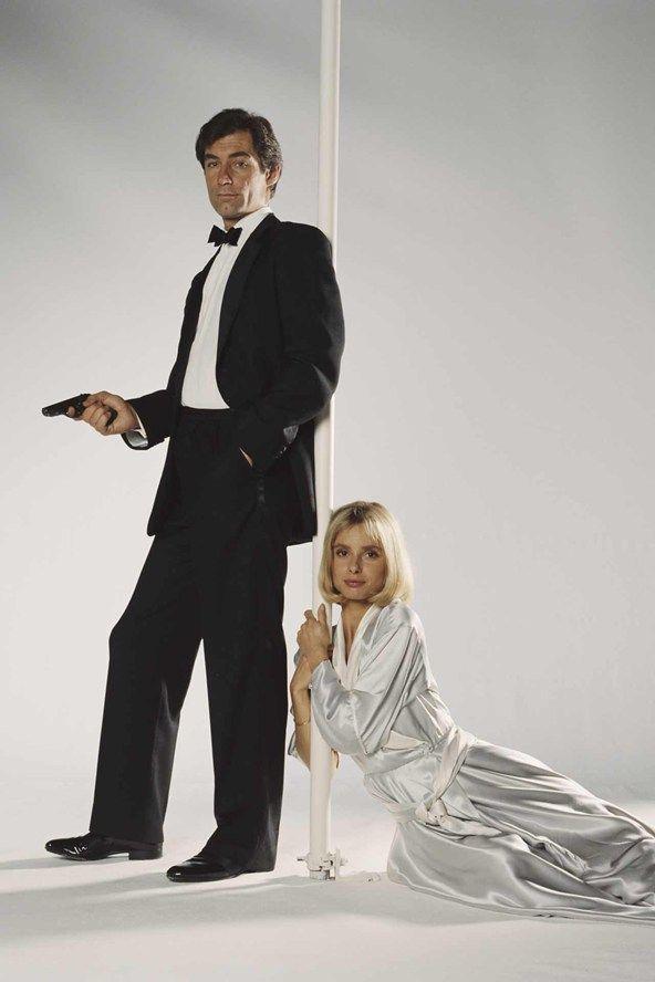 Timothy Dalton as James Bond -   1987