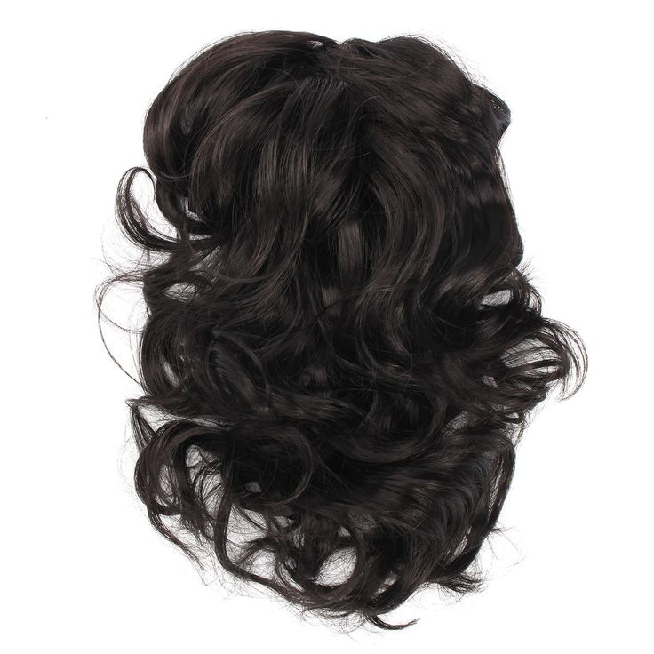 Claw Thick Wavy Curly Tail Long Layered Ponytail Clip Hair Extension at Banggood