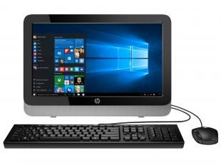 Computador All in One HP 18-5600br AMD E1 - 4GB 500GB Windows 10 LED 18,5 Leitor de Cartões
