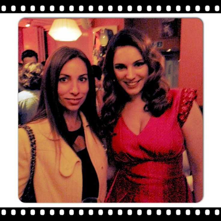 Nina Leykind and Kelly Brook at the Keith Lemon The Movie Premiere