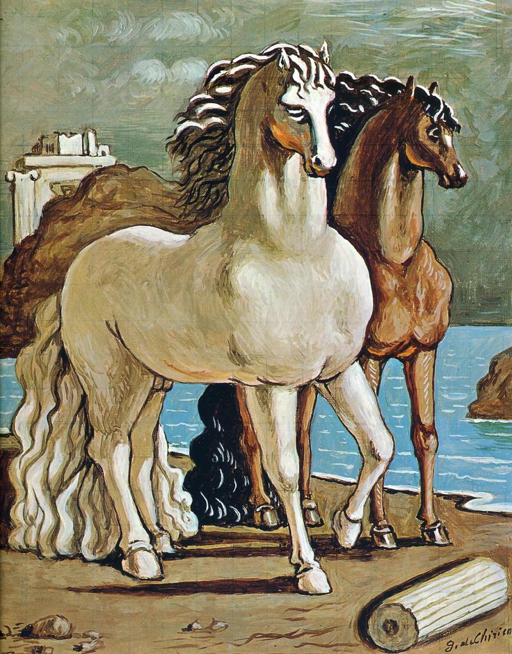 Living Room Decorating Ideas For Apartments For Cheap: Giorgio De Chirico. Art Experience