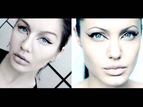 Come truccare gli occhi come Angelina Jolie - VideoTrucco