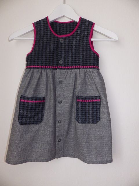 grey dress to kindergarden