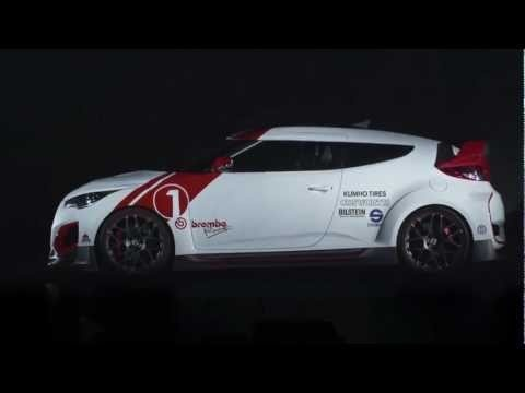 """It's the Veloster you know and love, taken to a whole new level. Check out the """"Velocity"""" concept at its 2012 SEMA debut."""