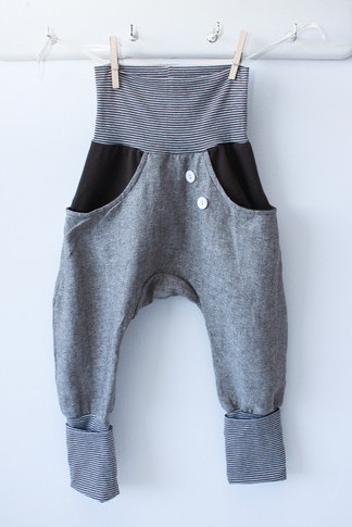 linen pants that grow with your child, by la petit cochon