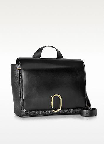 Alix Black Leather Messenger Bag - 3.1 Phillip Lim