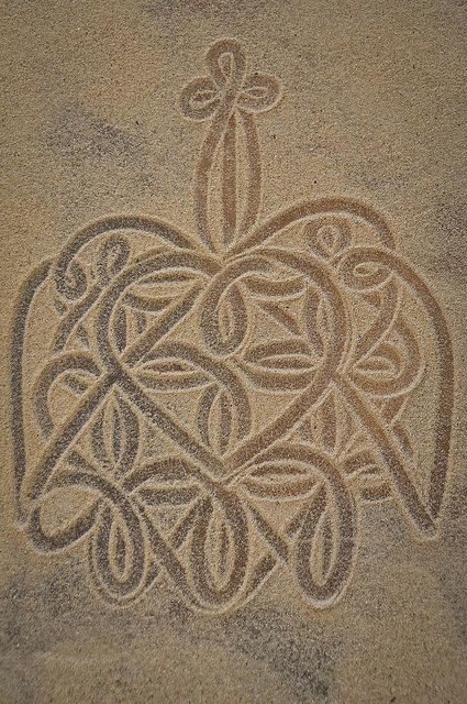 Sand drawing we saw get drawn in front of us at the Port Vila museum :) (am considering getting this tattooed somewhere)