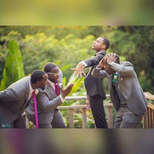 Idées de photos à prendre pour le marié et ses témoins