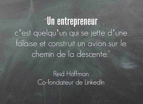 citation entrepreneur, Linkedln, Reid Hoffman, définition entrepreneur, fondateurs de Linkedln,