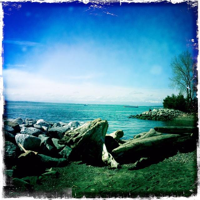 Beautiful Seattle waterfront