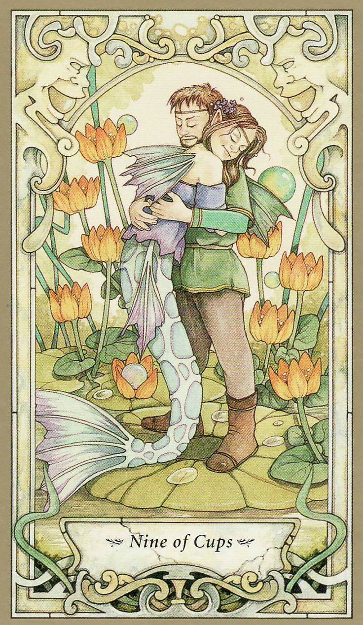 Mystic Faerie Tarot The World: 26 Best 9 Of Cups Images On Pinterest