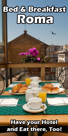 Bed and Breakfast Roma, Hotel Roma | Travel with Confidence check out http://travel-buff.com/