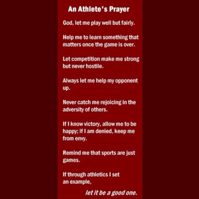 Motivational Quotes For Sports Teams: 25+ Best Ideas About Athletes Prayer On Pinterest