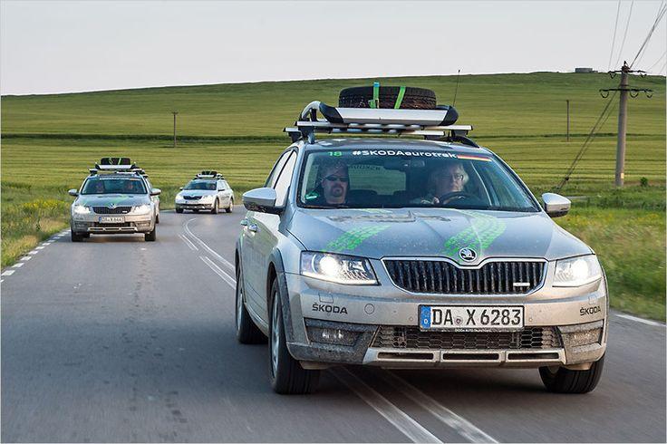 Anlässlich des Skoda Euro Trek 2016 sind wir mit dem Octavia Combi Scout 900 Kilometer durch Rumänien gefahren
