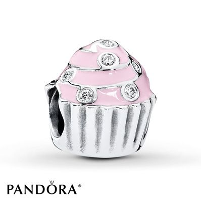 PANDORA Charm Sweet Cupcake Sterling Silver-Kayla gave me for my birthday 2016