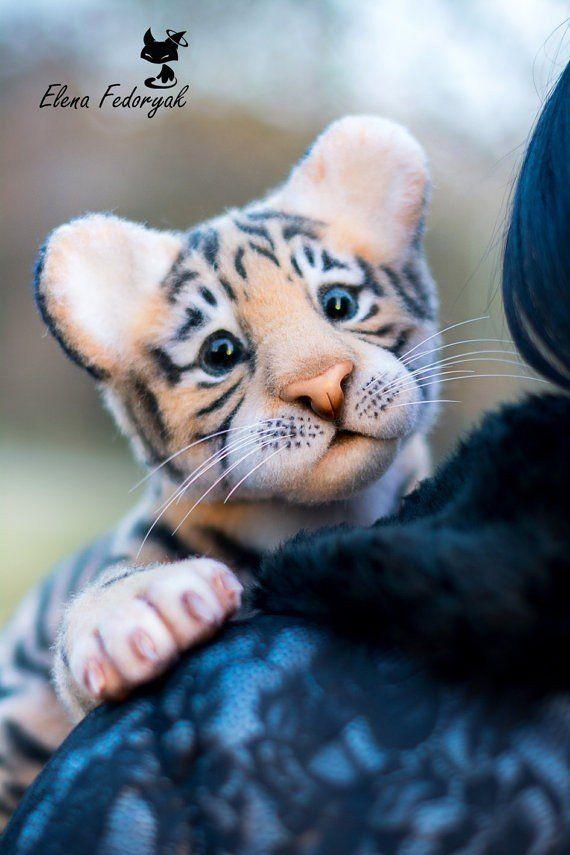 FeltedLoft.ru | Шерстяная кладовка | Валяние. Tiger cub.