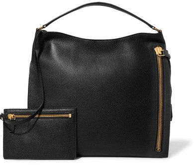 aeb1982367cd Tom Ford Alix Large Textured-leather Tote - Black
