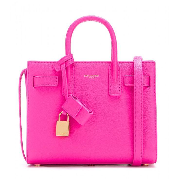 Voyez la vie en rose avec le Sac de Jour de Saint Laurent ! www.leasyluxe.com #amazing #hautecouture #leasyluxe