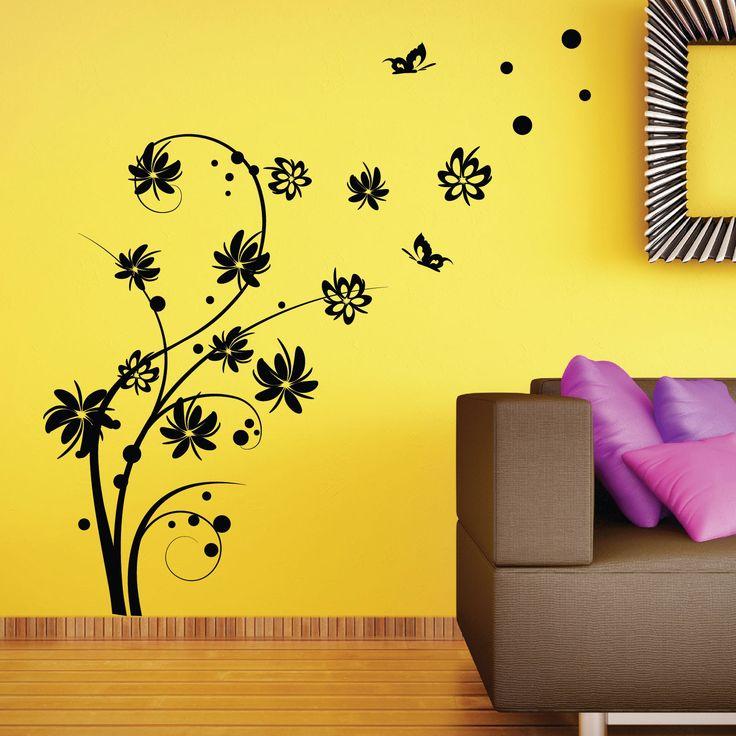 17 migliori idee su parete stencil su pinterest stencil parete a tema albero stencil da - Stencil albero da parete ...