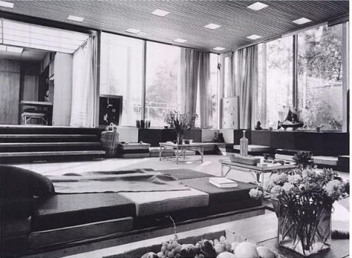 House in Planetveien 12, Oslo, 1955 by Arne Korsmo