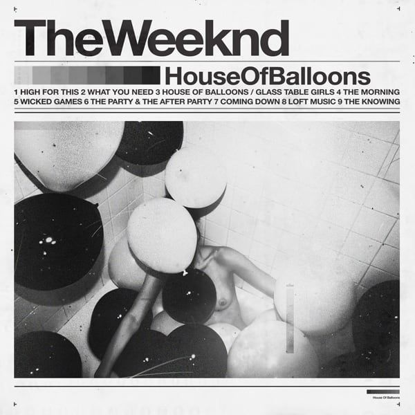 41. The Weeknd, House of Balloons - The 50 Best Pop Album Covers of the Past Five Years | Complex
