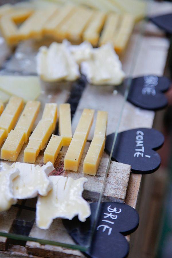 El banquete: Los buffets de quesos via BodaBella.es