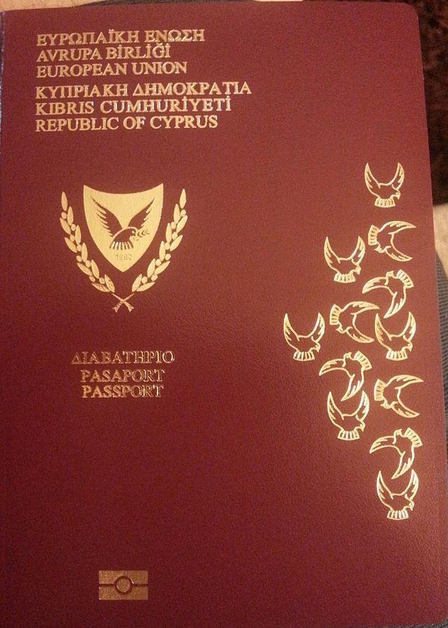 Passport of Cyprus