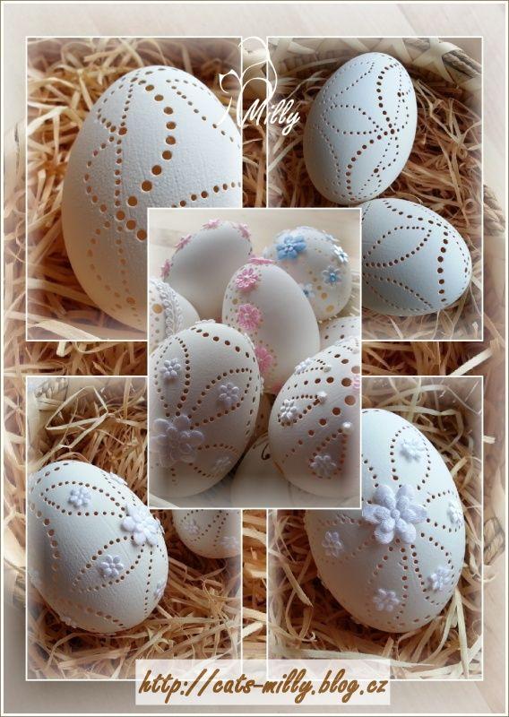 easter egg carving