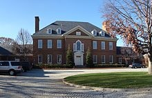Pennsylvania Governor's Residence - Harrisburg, whole family dined there 2012 to honor mom.