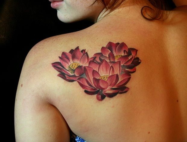 40 Beautiful Lotus Flower Tattoo Designs