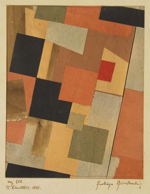 Kurt Schwitters, DaDa, Constructionist and 20th century's greatest master of collage.