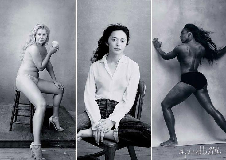 Pirellis' 2016 Calendar of Influential Women