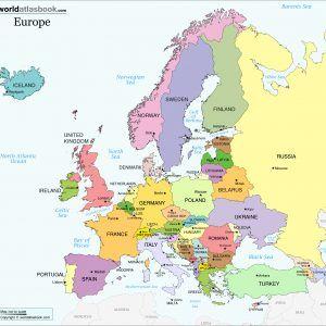 Europe Blank Map Hd