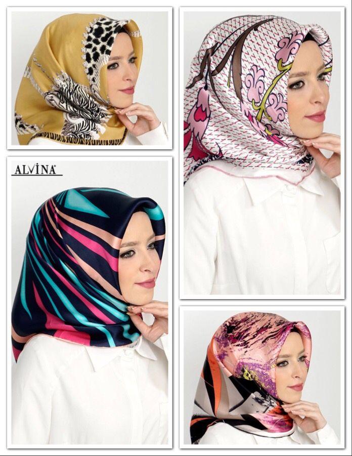 Alvina Marka İpek Eşarpları ile Sezonun En Canlı Desen ve Renklerine Ulaşmak İçin; www.alvinaonline.com