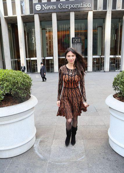Oksana Grigorieva Photos  - Oksana Grigorieva Spotted in NYC - Zimbio