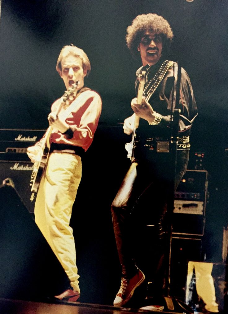Midge Ure and Phil Lynott live in Japan 1979