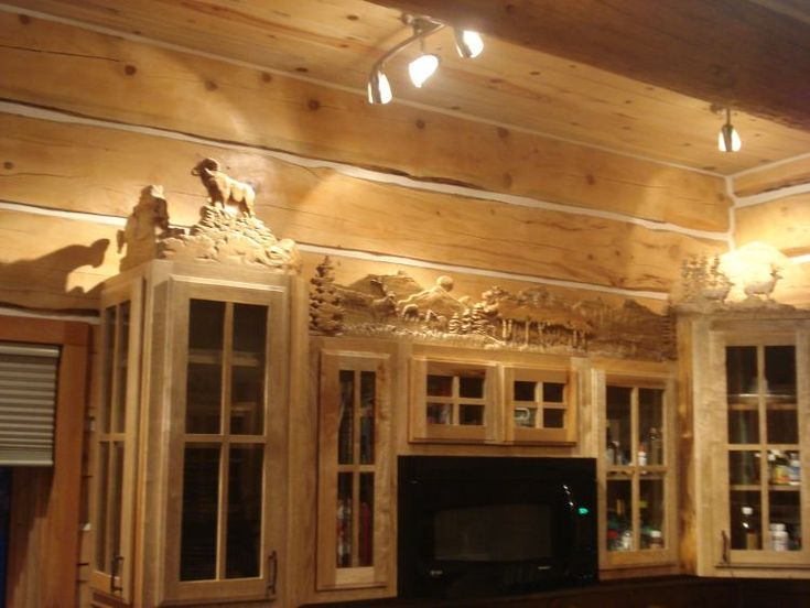 Bos Log Home Builders Fine Log Homes Log Entry Ways Log Home Plans - Slides - Log Home Trim