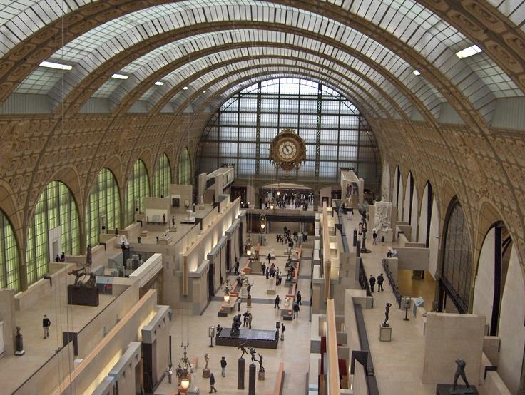Musée d'Orsay, Paris  Gae Aulenti