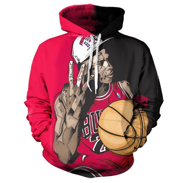 Chicago Bulls Michael Jordan Hoodie