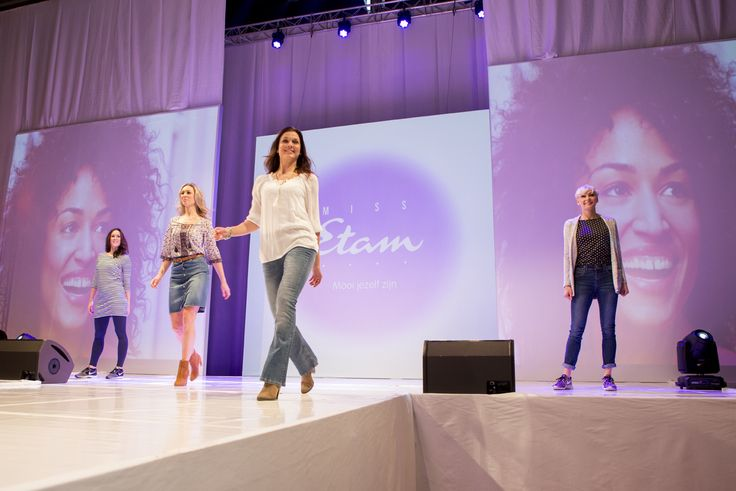 Modeshow met #missetam kleding op de #huishoudbeurs