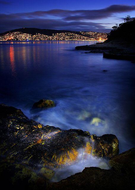 Bellerive, Hobart, Tasmania, Australia by Andrew C Wallace