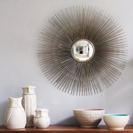 Porcupine Convex Mirror - Round & Oval Mirrors - Mirrors