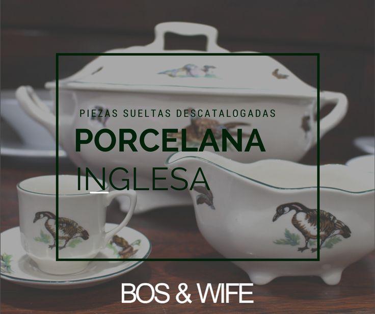 Porcelana inglesa piezas sueltas vajilla vajilla for Catalogo de vajillas