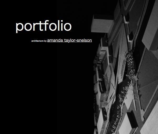 portfolio cover pages