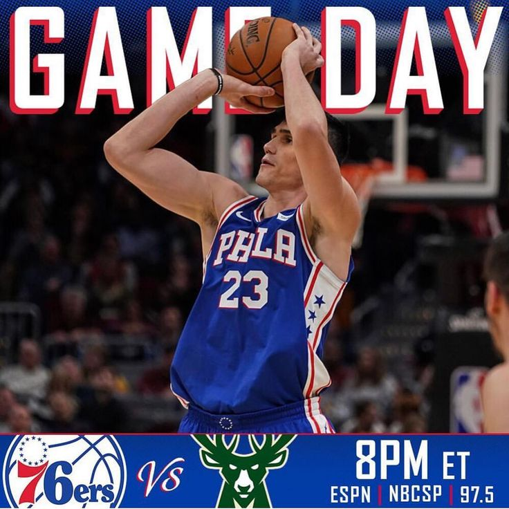 Its #GAMEDAY  We are on Sunday Night Prime Time in a huge matchup against Milwaukee. Another game with major playoff implications. Lets have the Buck stop here and get this W!  #76Fanatics #Sixers #TrustTheProcess