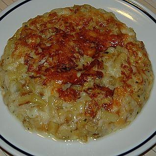 Frico carnico con patate e cipolla