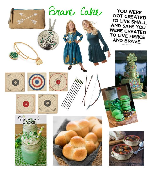"""Brave Cake"" by angel-mariete on Polyvore featuring interior, interiors, interior design, home, home decor, interior decorating, Merida, Pistil, Brave Soul and Alex and Ani"