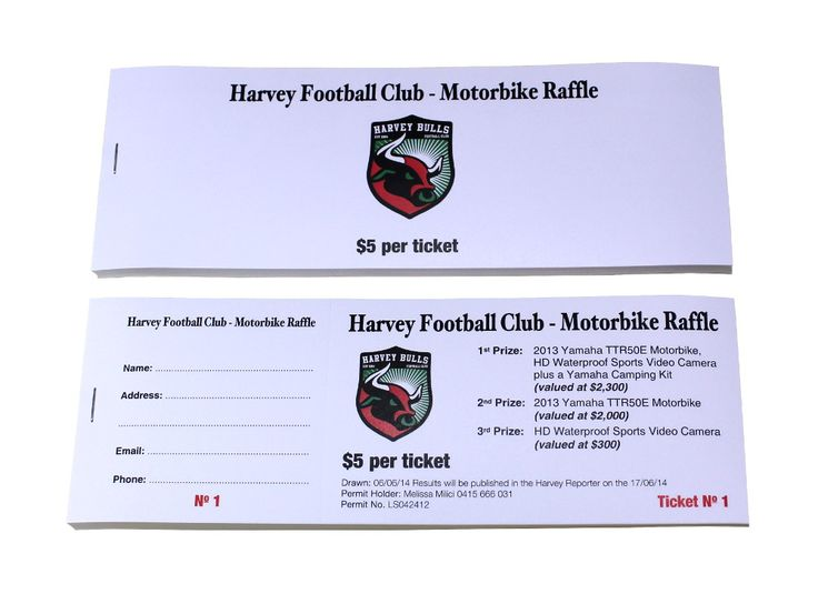 10 best Raffle Ticket Designs images on Pinterest Ticket design - raffle ticket