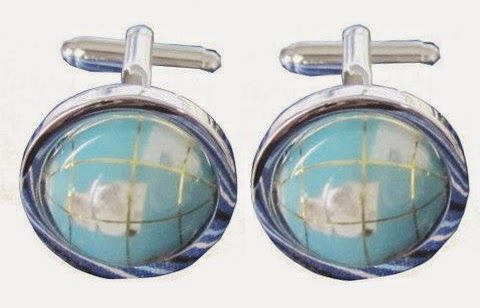 """""""Globe Cufflinks"""" 